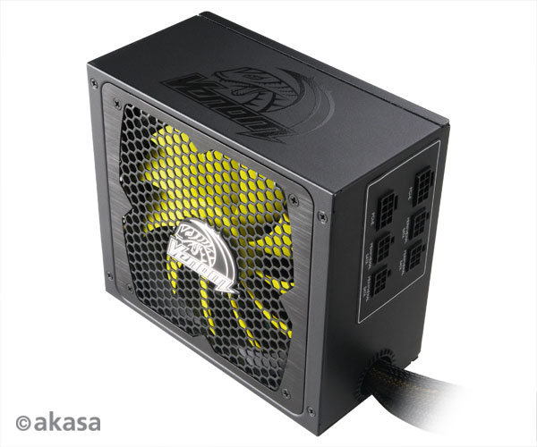 Venom Power XT Kabelmanagement, Bildquelle: Akasa