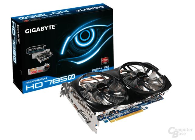 Gigabyte Radeon HD 7850 1.024 MB