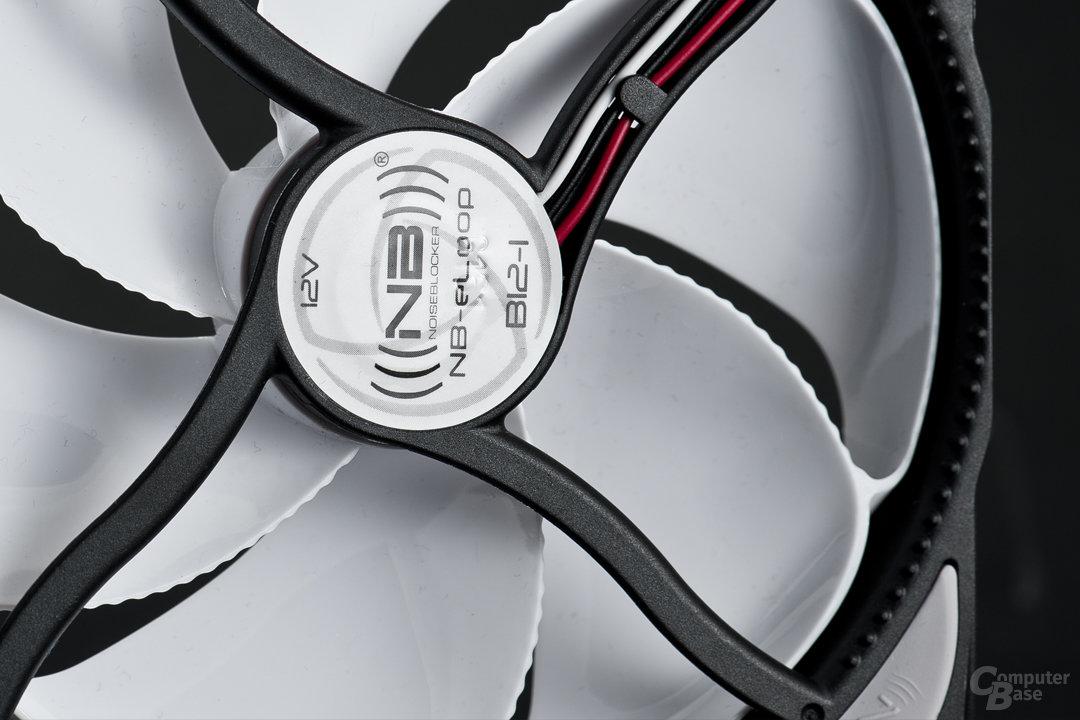 Verbesserter Rotorenantrieb sehr platzsparend untergebracht