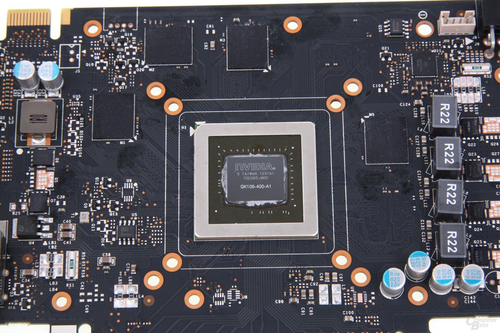GeForce GTX 660 GPU und Speicher