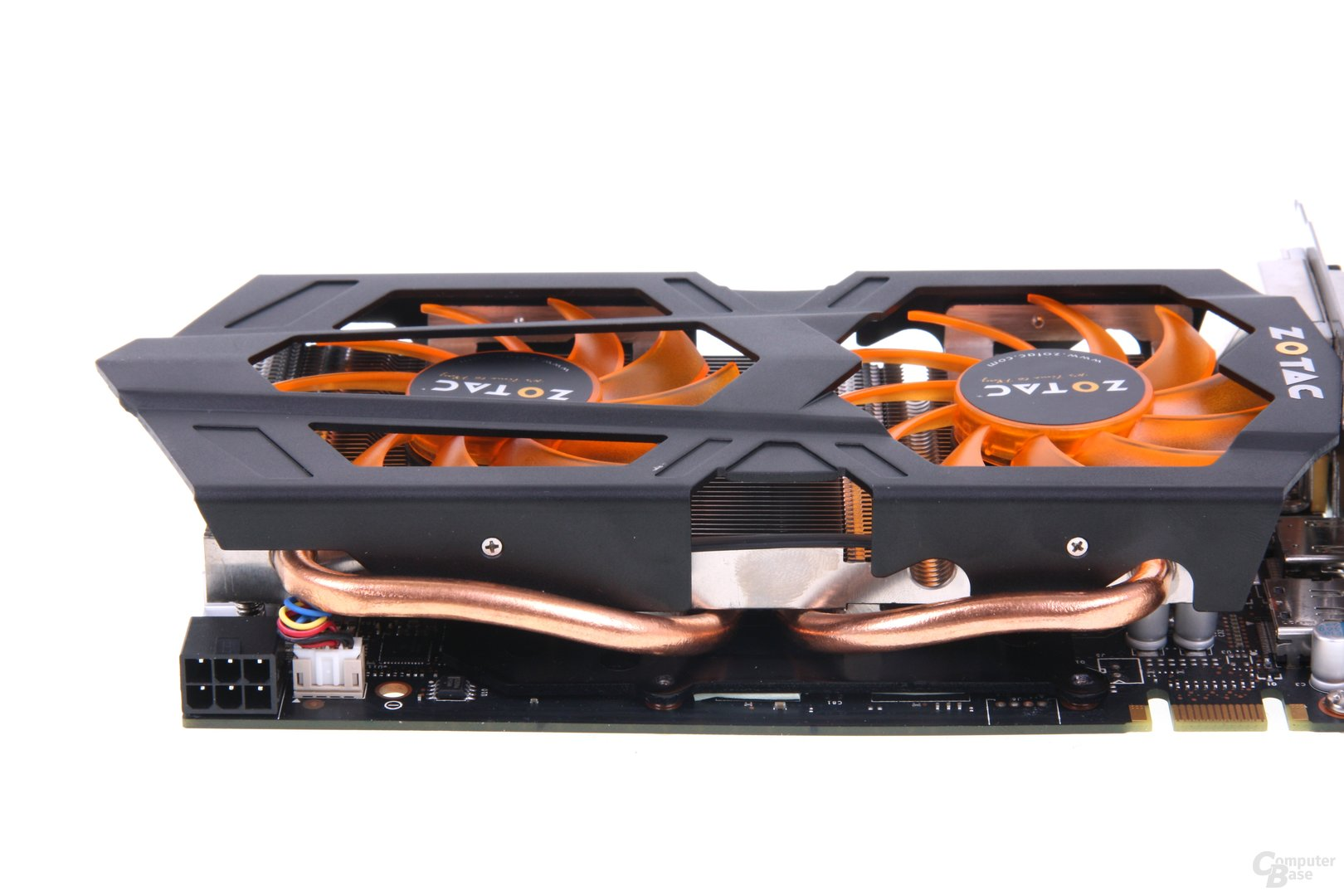GeForce GTX 660 Heatpipes