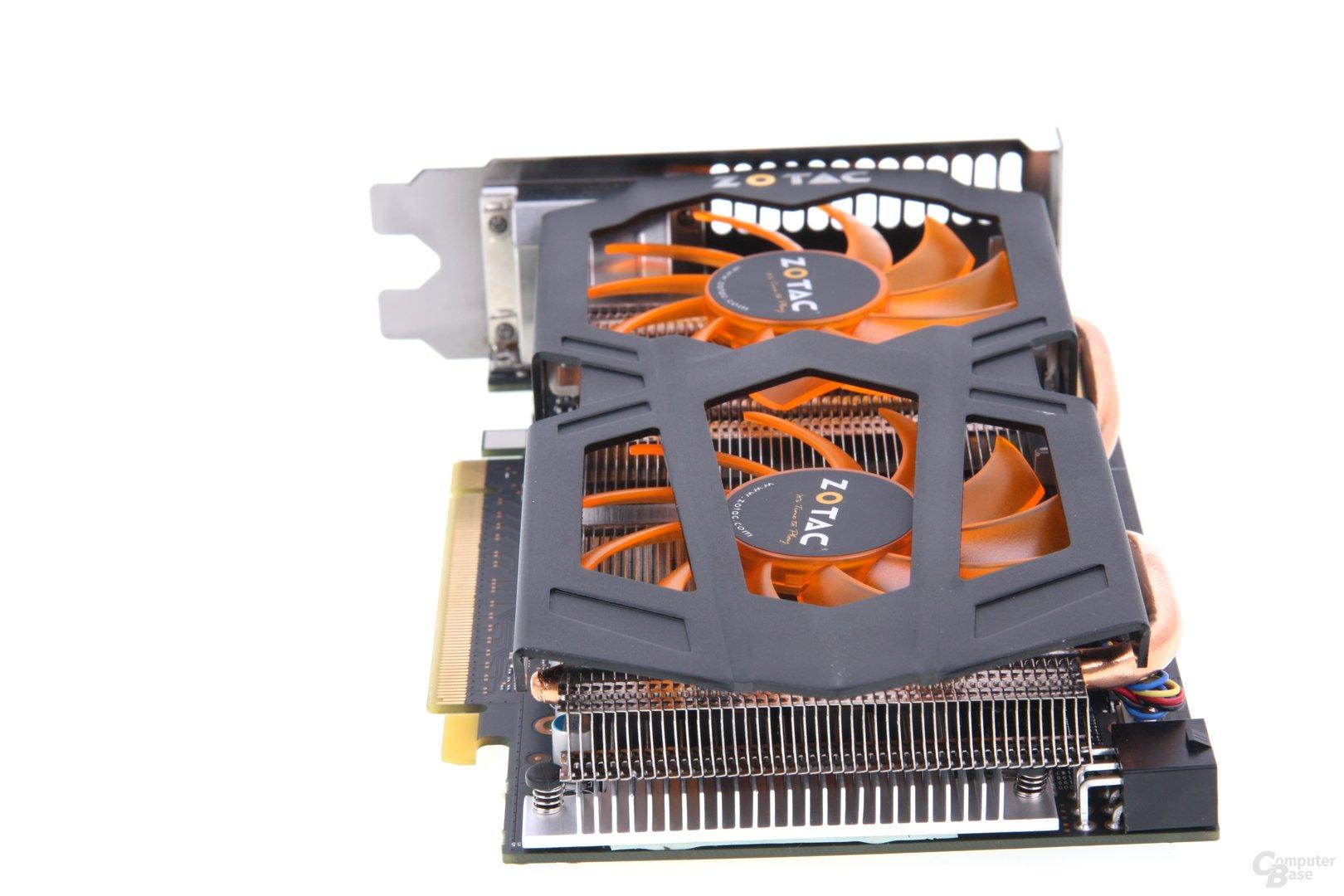 GeForce GTX 660 von hinten
