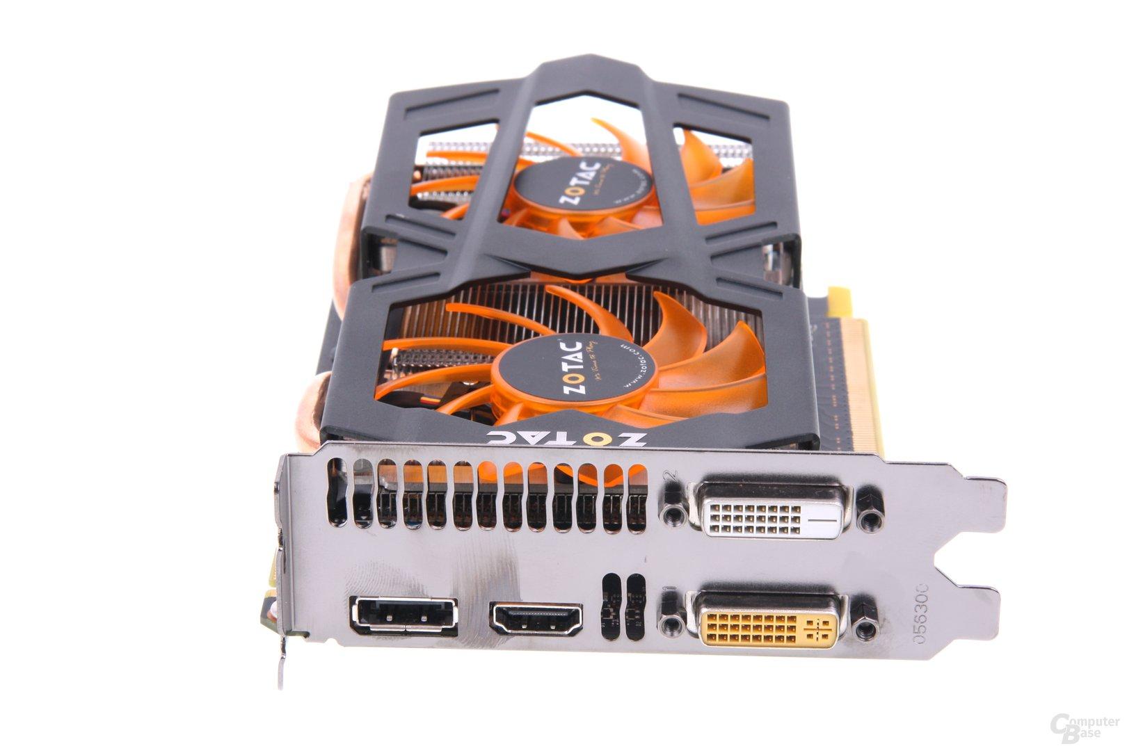 GeForce GTX 660 Slotblech