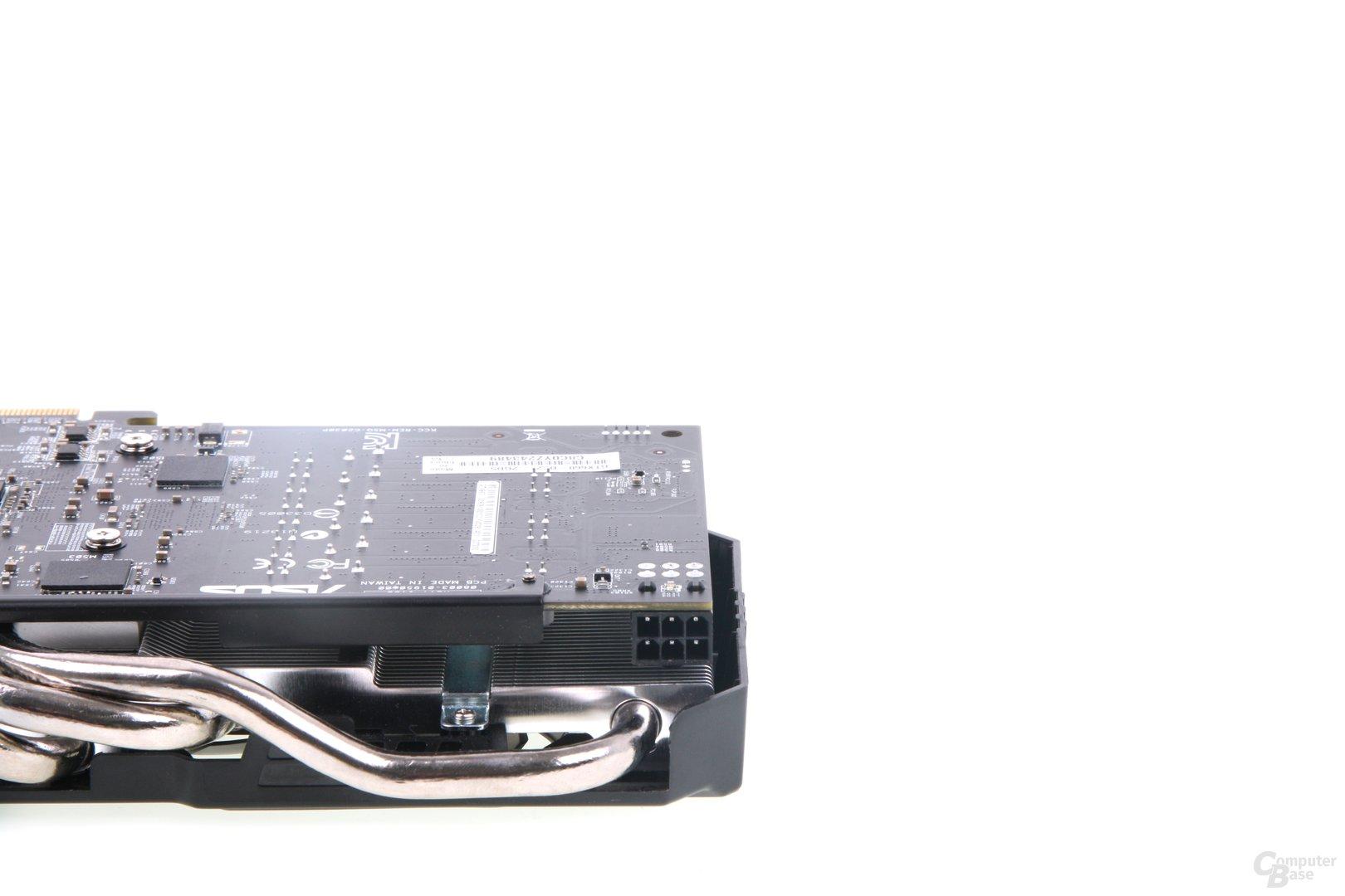 GeForce GTX 660 DCII TOP Stromanschluss