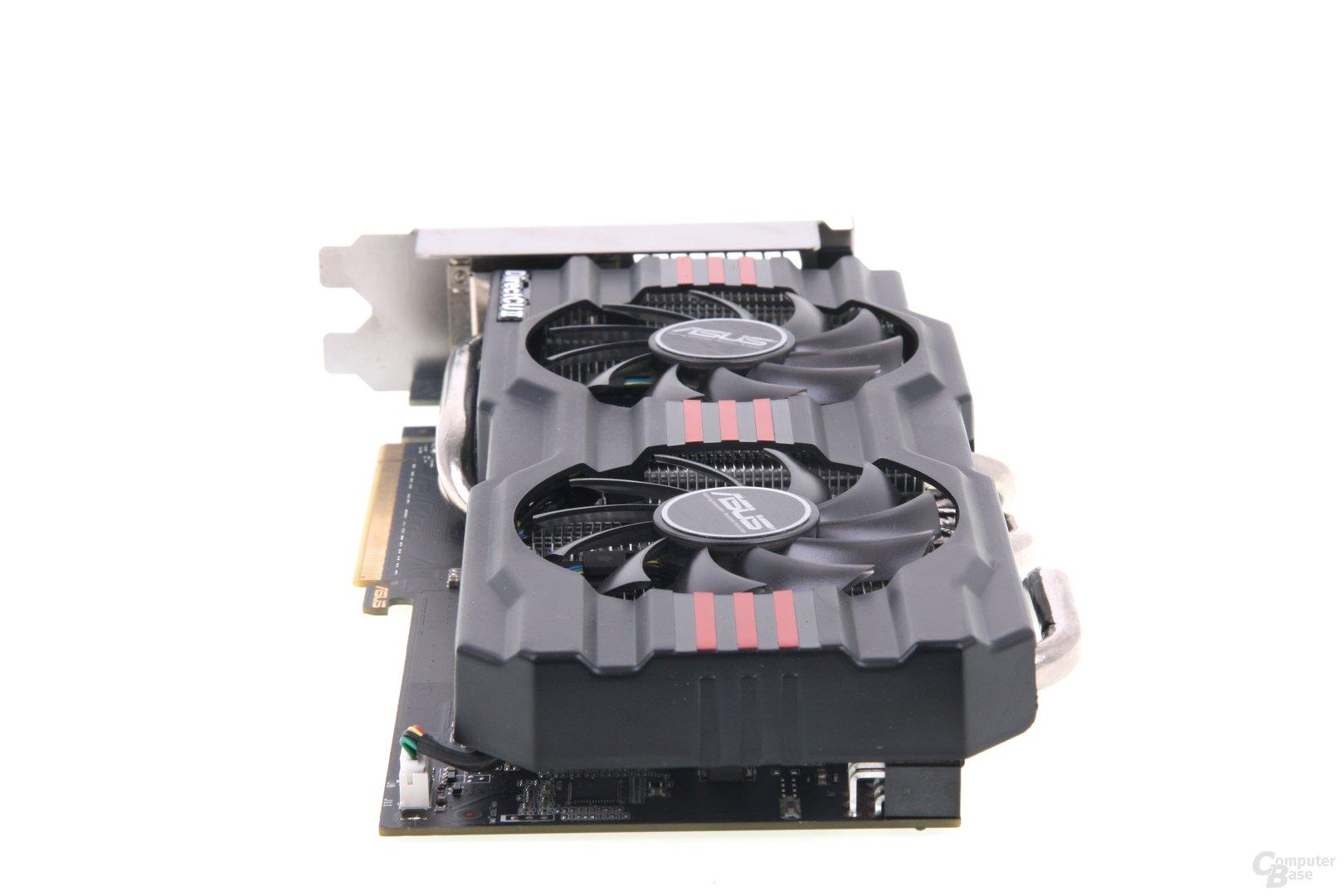 GeForce GTX 660 DCII TOP von hinten