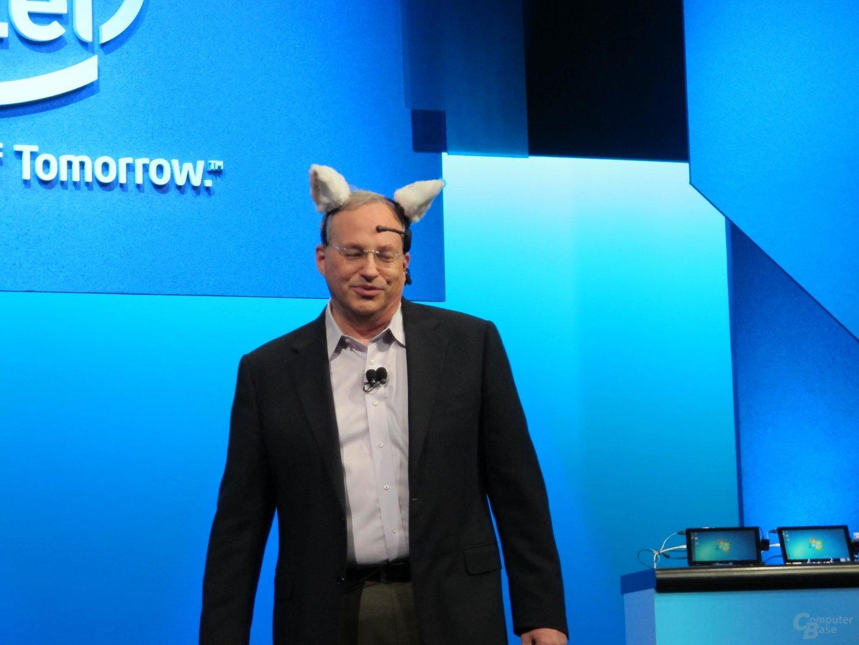 Intels Technikvorstand Justin Rattner