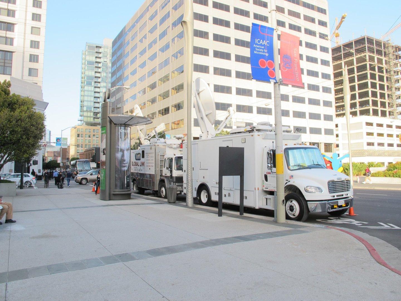 San Francisco: Vorbereitungen auf das Apple-Event