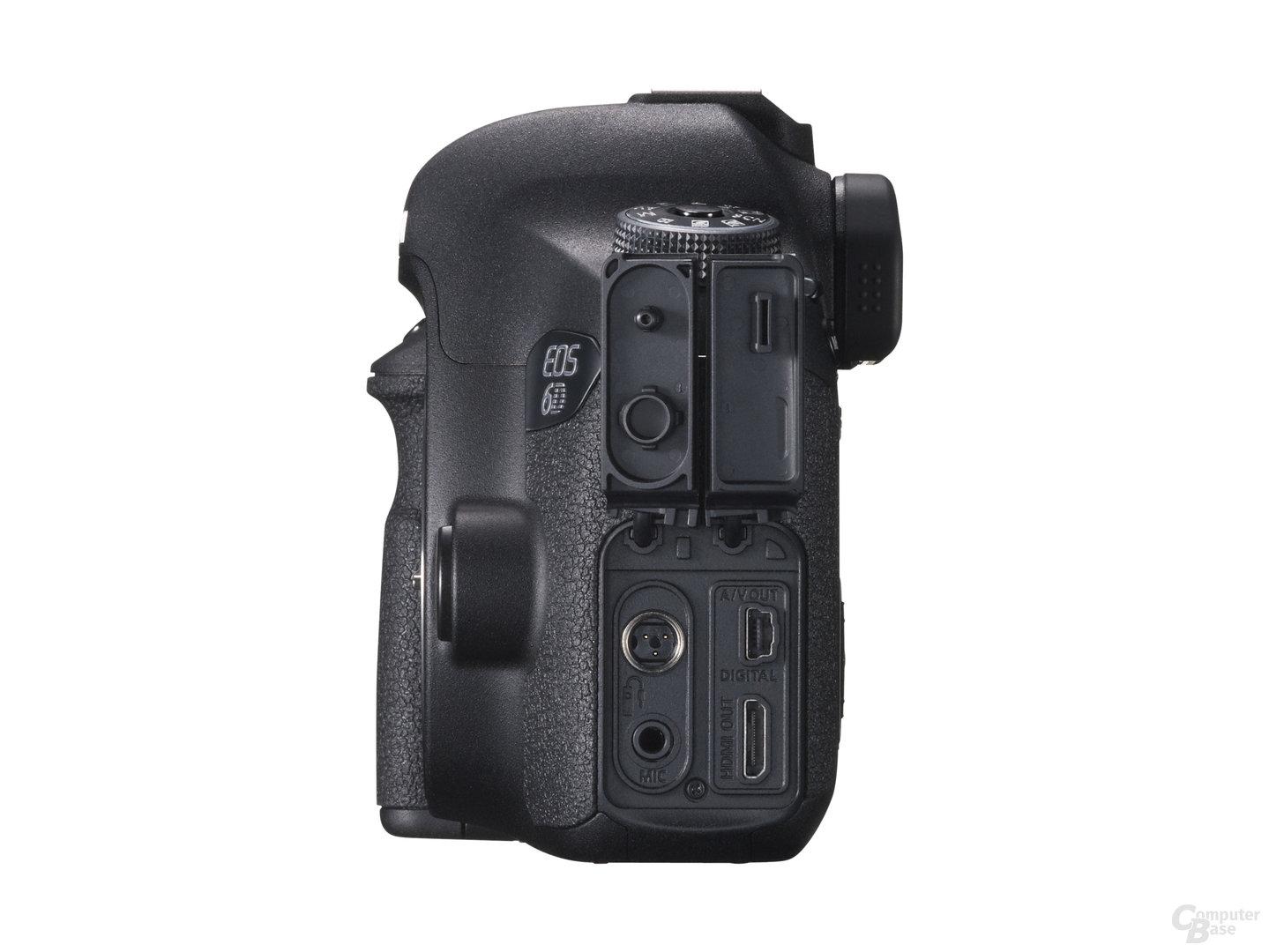 Canon EOS 6D – Seitenansicht