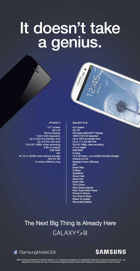 Samsungs Antwort auf das iPhone 5
