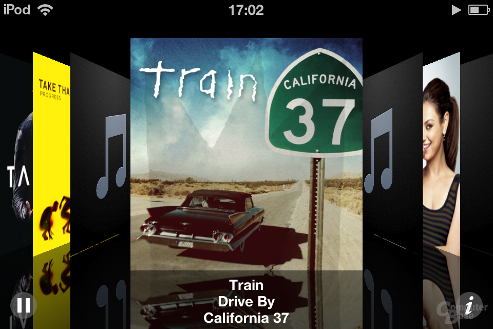 iPod Touch (iOS 5.1.1): Musik-App