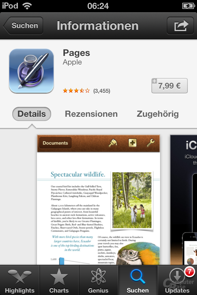 iPod Touch (iOS 6): App Store