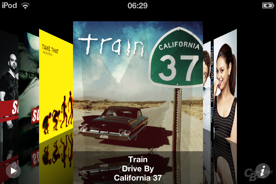 iPod Touch (iOS 6): Musik-App