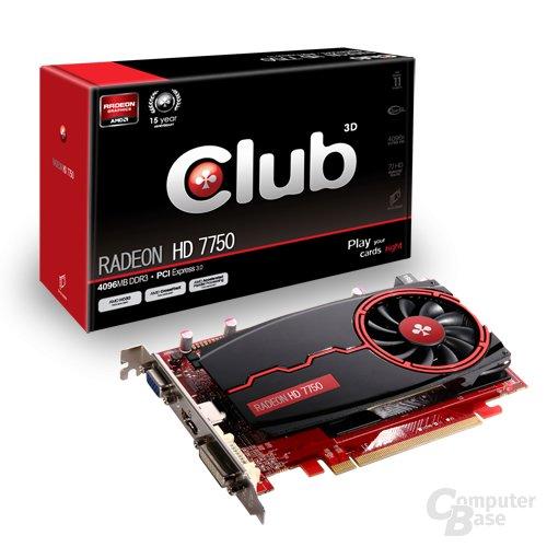 Club3D Radeon HD 7750 DDR3