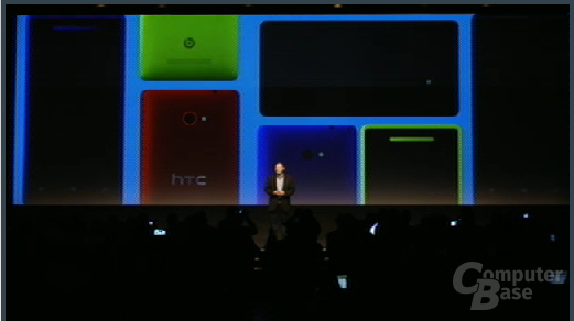 Windows Phone 8: HTC-Präsentation