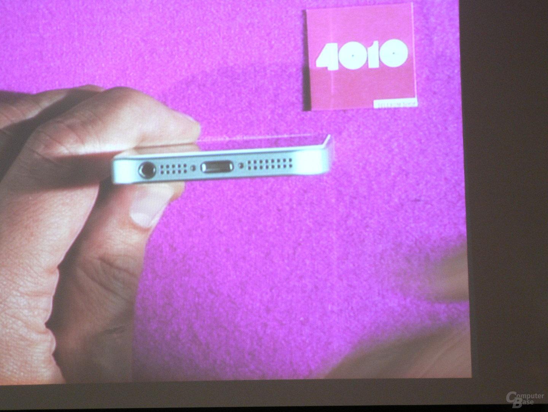 """iPhone-5-Vorstellung (""""4010 Telekom Shop in Mitte"""")"""