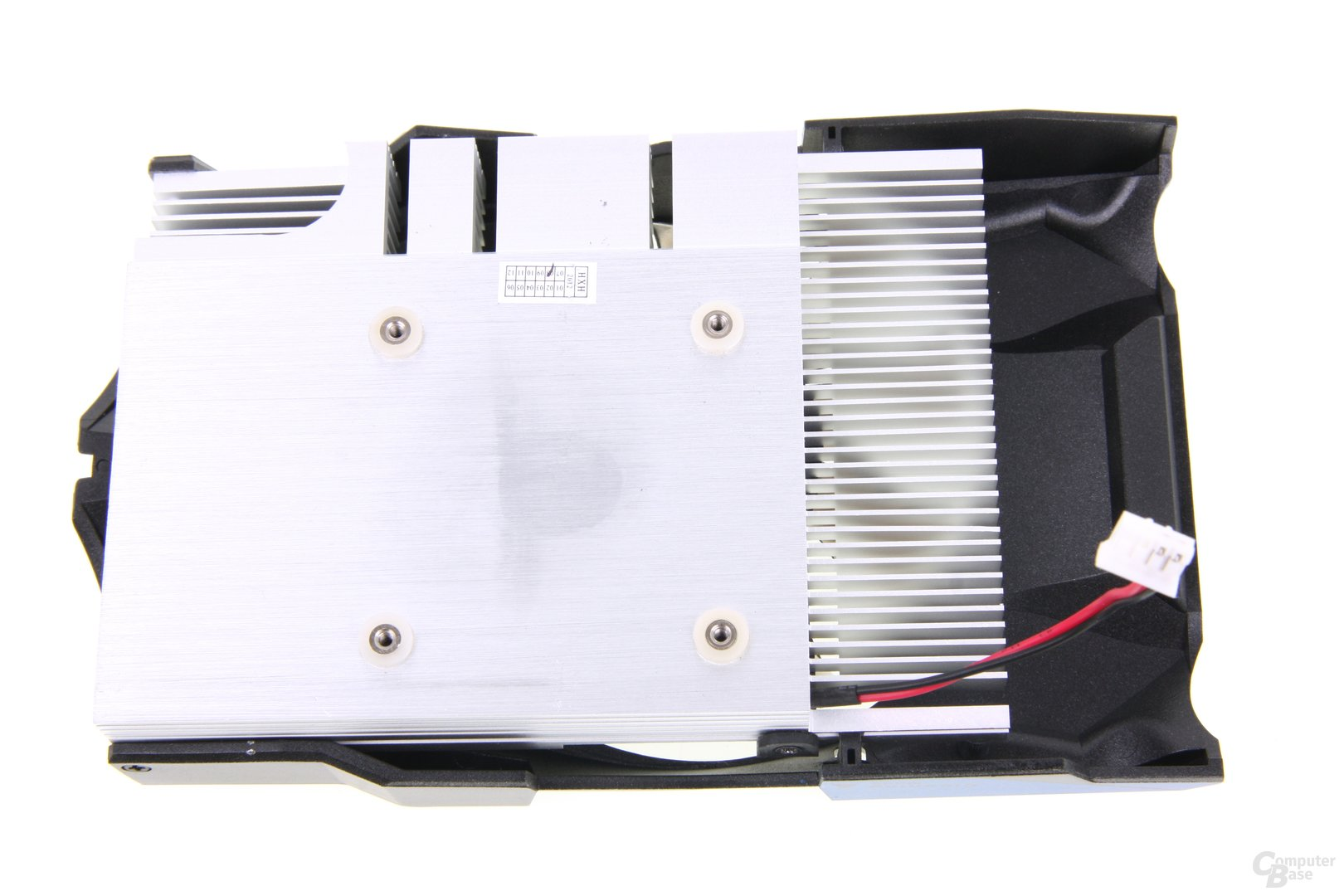 GeForce GTX 650 OC EX Kühlerrückseite