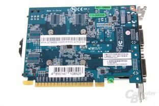 GeForce GTX 650 OC EX Rückseite