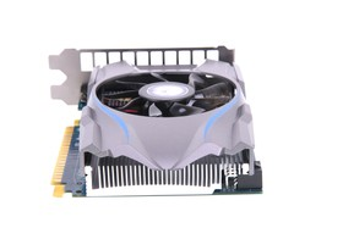 GeForce GTX 650 OC EX von hinten