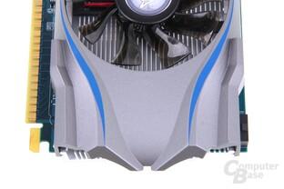 GeForce GTX 650 OC EX von oben