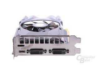 GeForce GTX 650 OC EX Slotblech