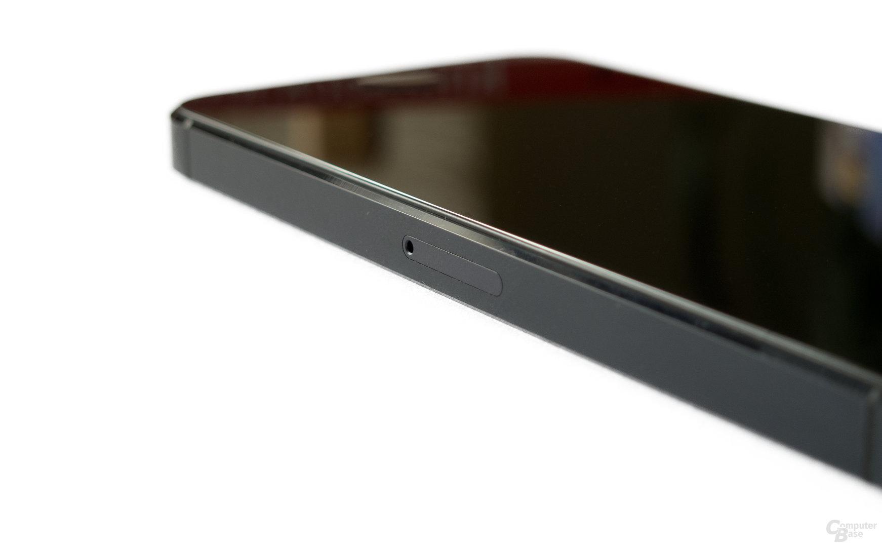 Platz für eine Nano-SIM