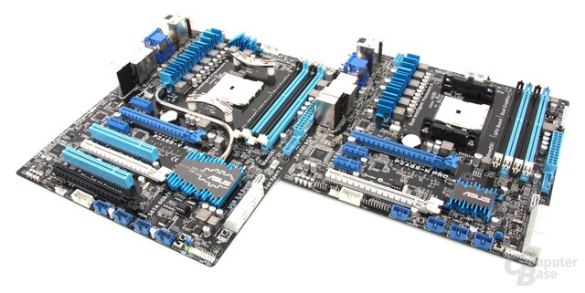 Asus Trinity-Mainboards
