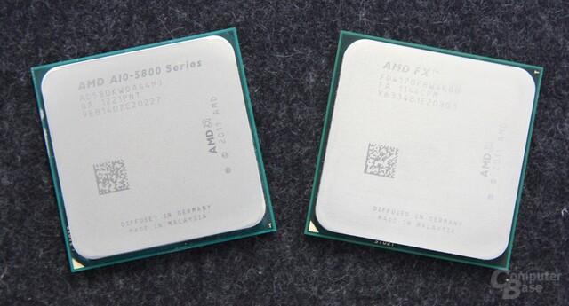 A10-5800K und FX-4170