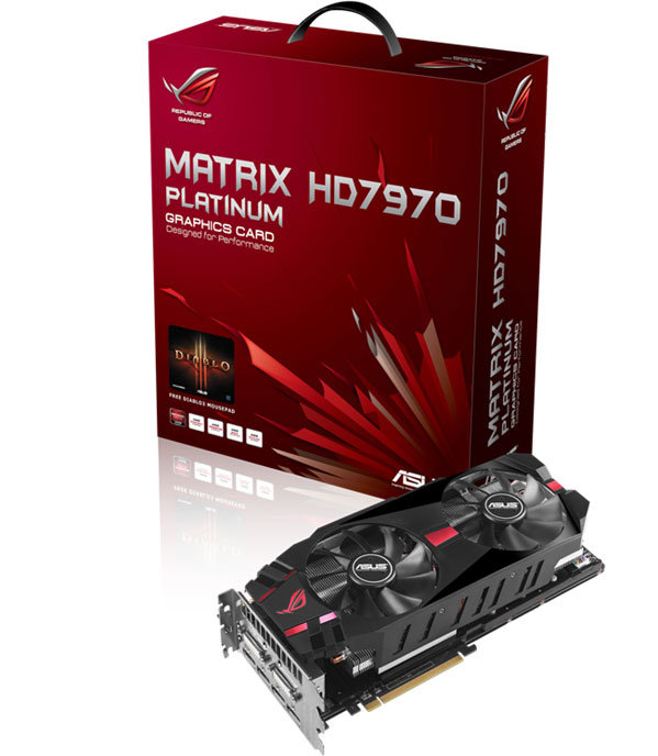 Asus HD 7970 Matrix Platinum