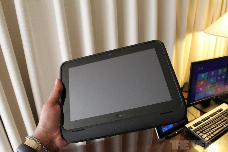 Hewlett-Packard ElitePad 900 mit weiteren Anschlüssen