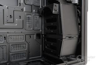 NZXT Phantom 820 – Festplattenkäfig und verstellbare Lüfterhalterung