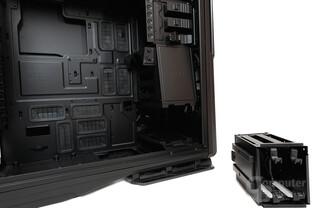 NZXT Phantom 820 – Unterer Festplattenkäfig entfernt