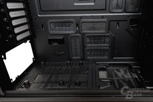 NZXT Phantom 820 – Netzteilposition und Kabelmanagement