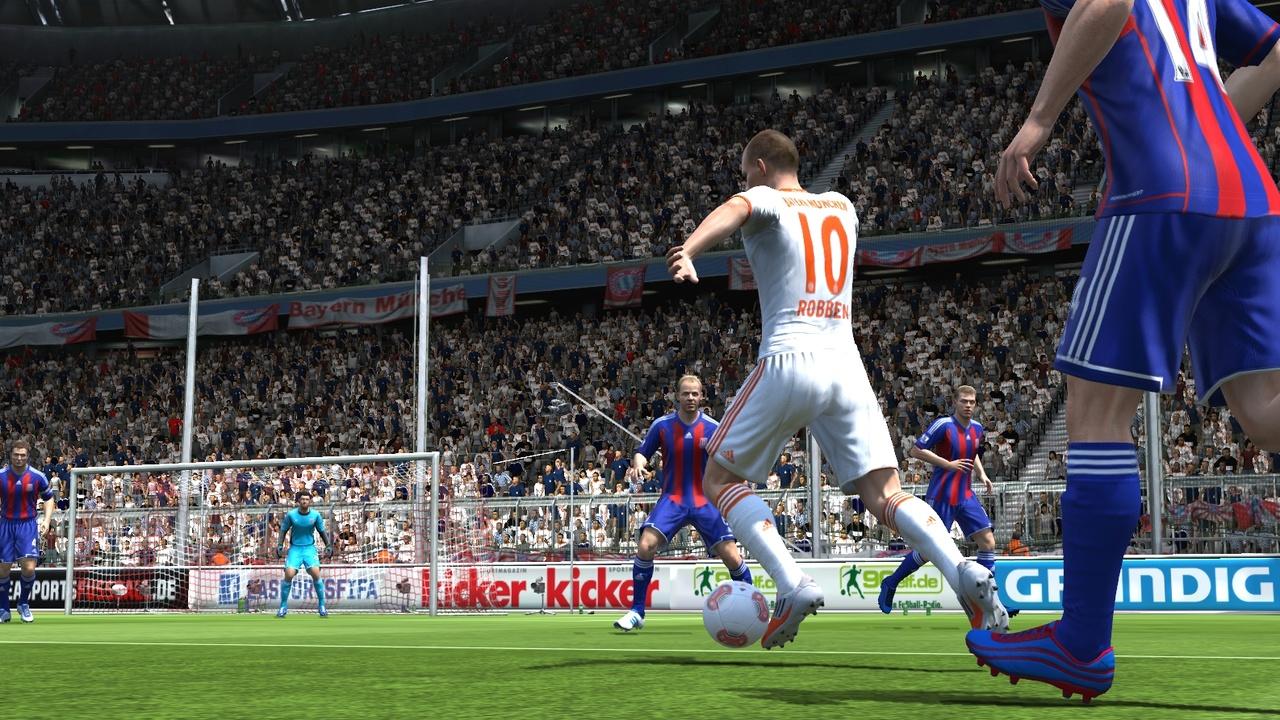 FIFA 13 im Test: Es bleibt bei Änderungen im Detail