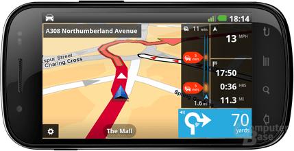 Navigation mit TomTom für Android