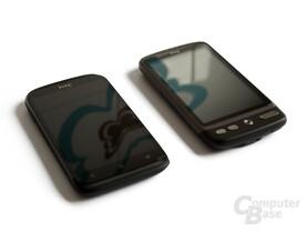 HTC Desire X und Desire