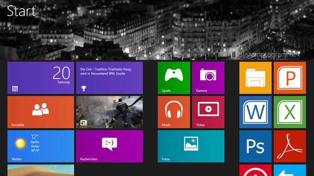 Windows 8 Tipps: Erste Handgriffe im neuen Windows