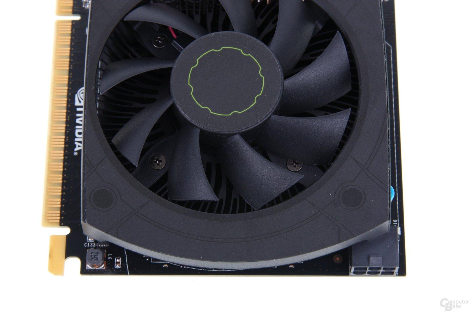 GeForce GTX 650 Ti von oben