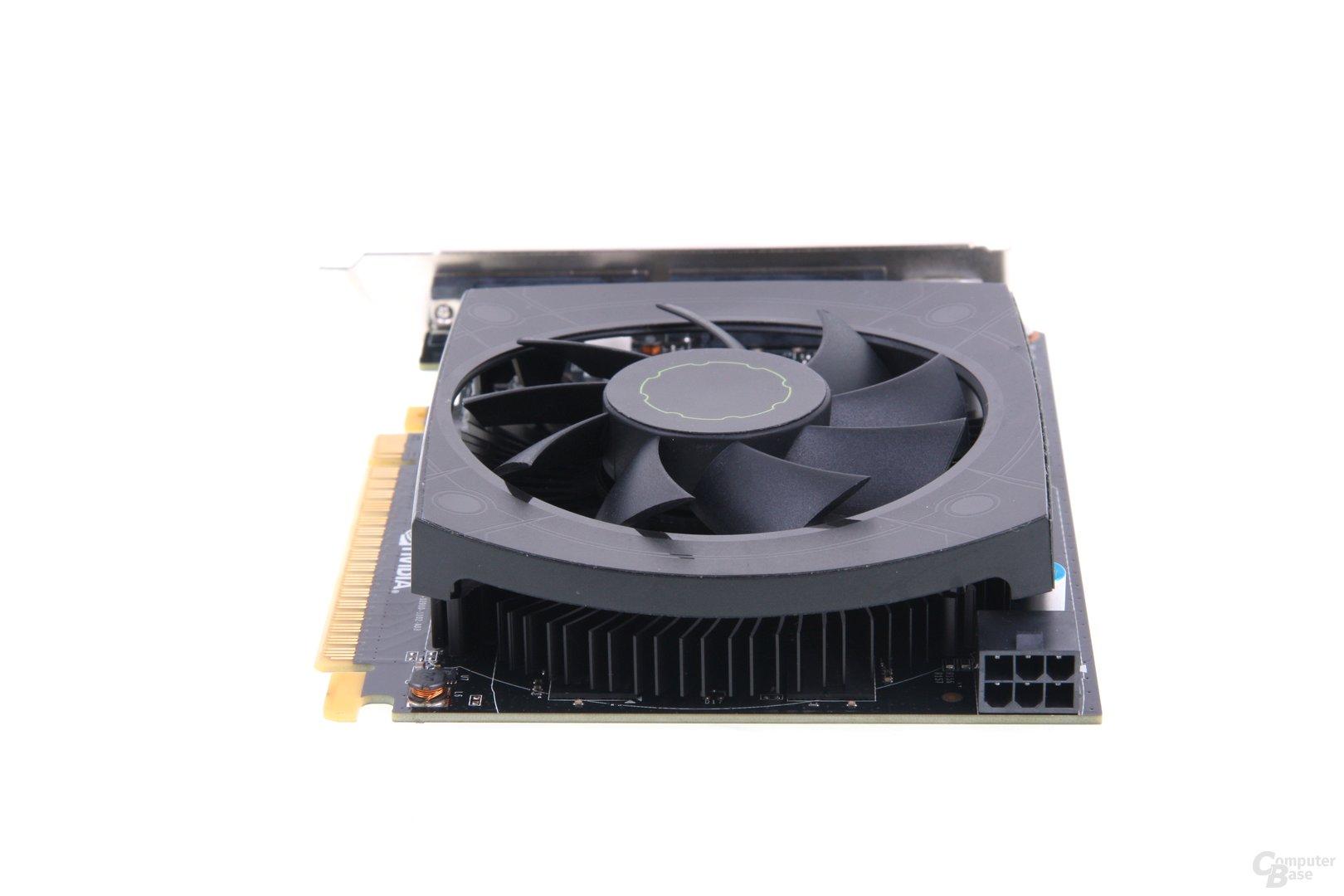 GeForce GTX 650 Ti von hinten
