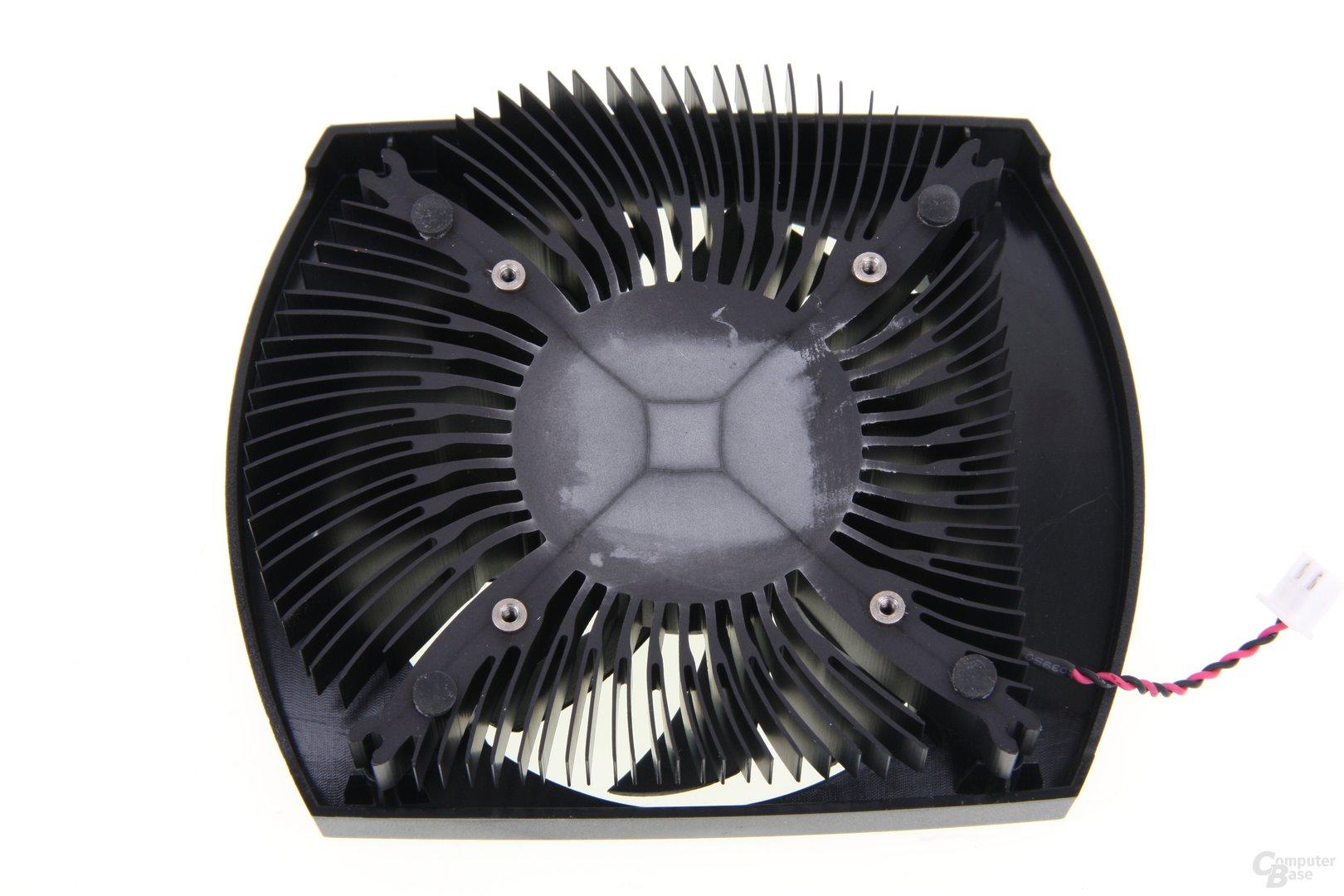 GeForce GTX 650 Ti Kühlerrückseite