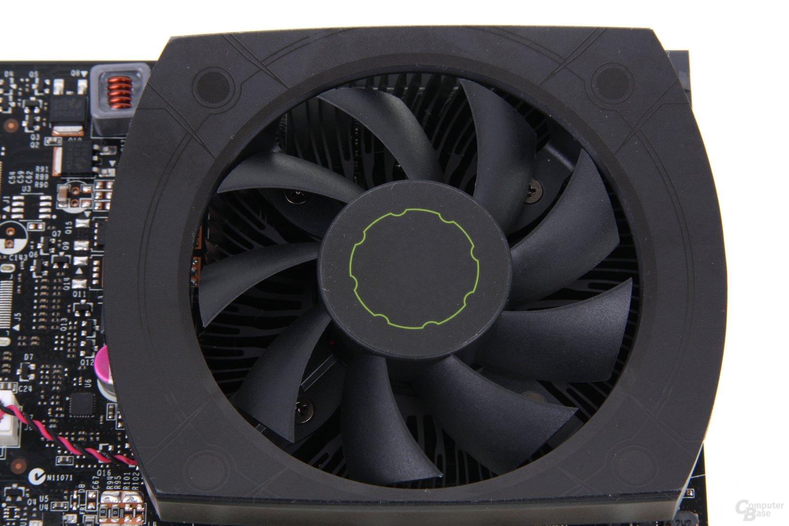 GeForce GTX 650 Ti Lüfter