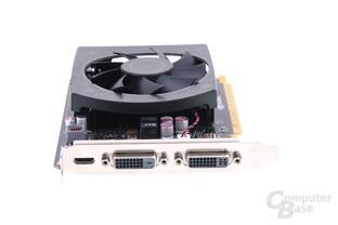 GeForce GTX 650 Ti Slotblech