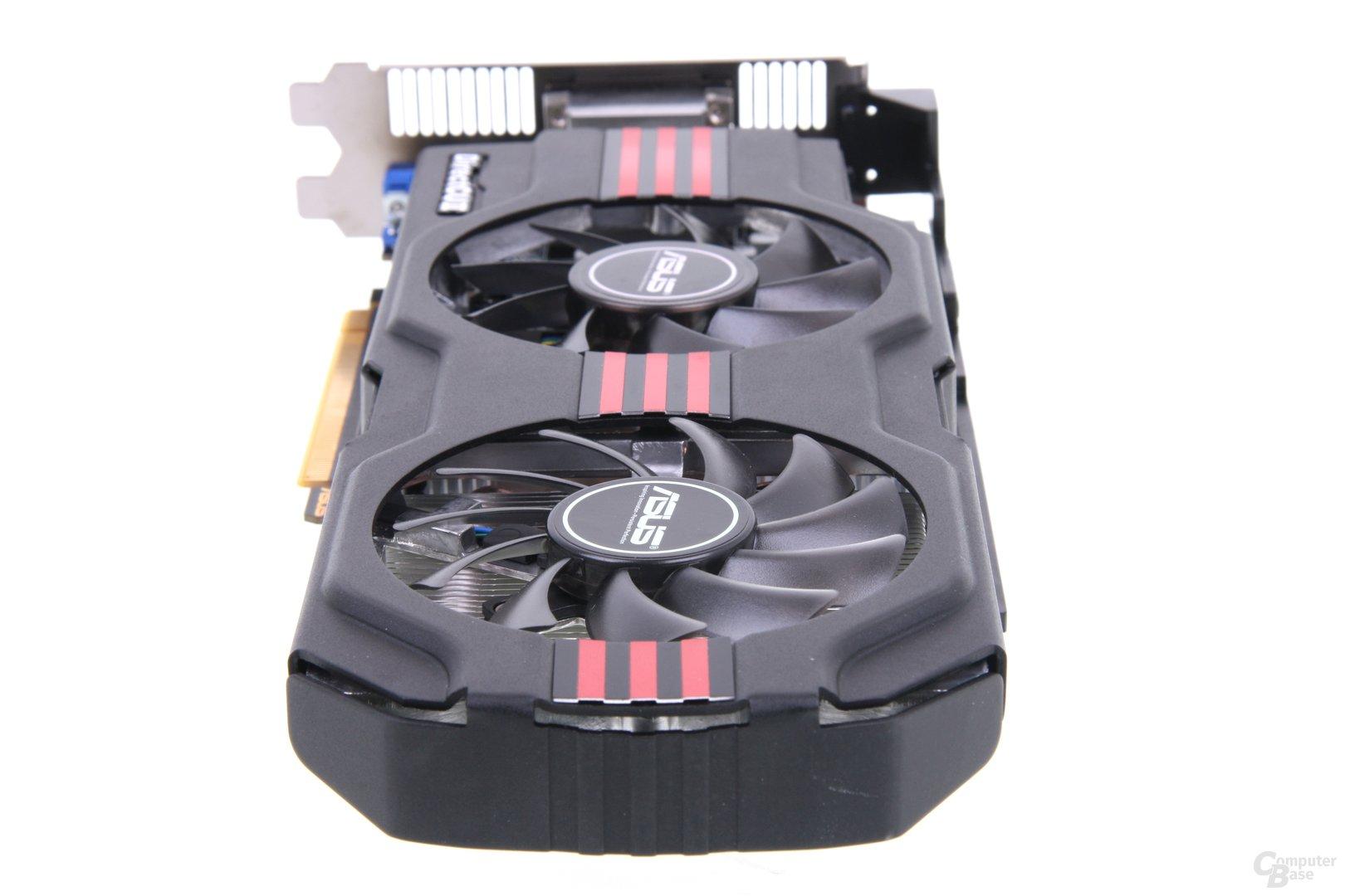 GeForce GTX 650 Ti TOP von hinten