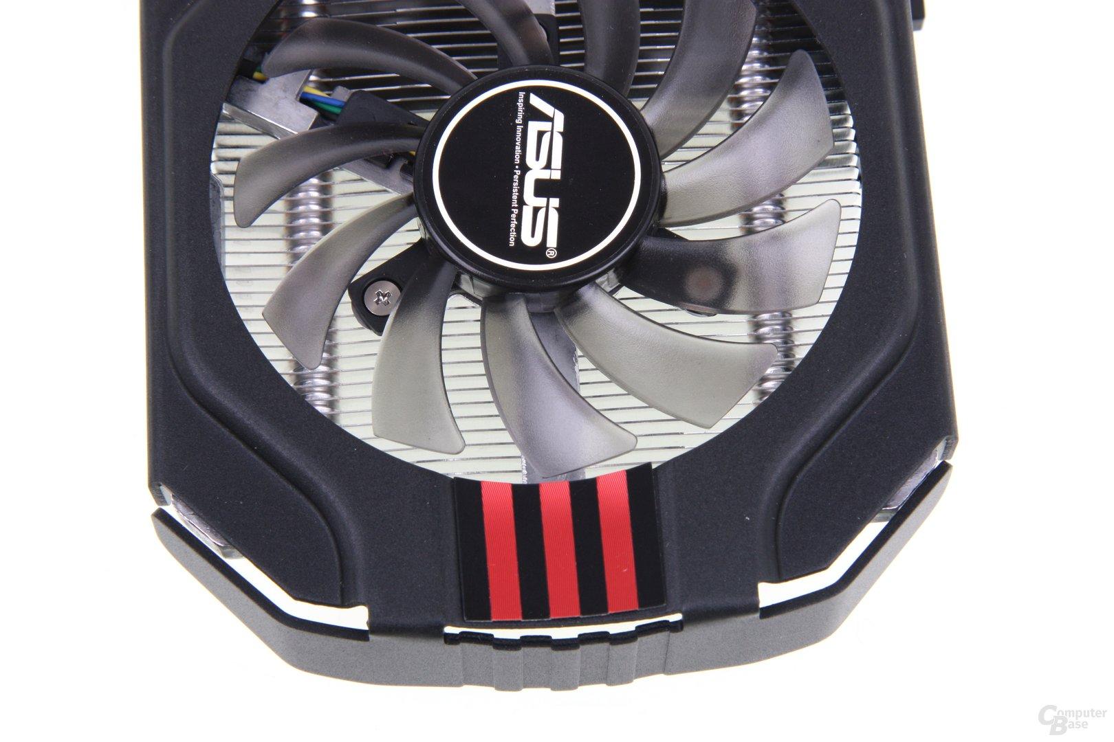 GeForce GTX 650 Ti TOP von oben