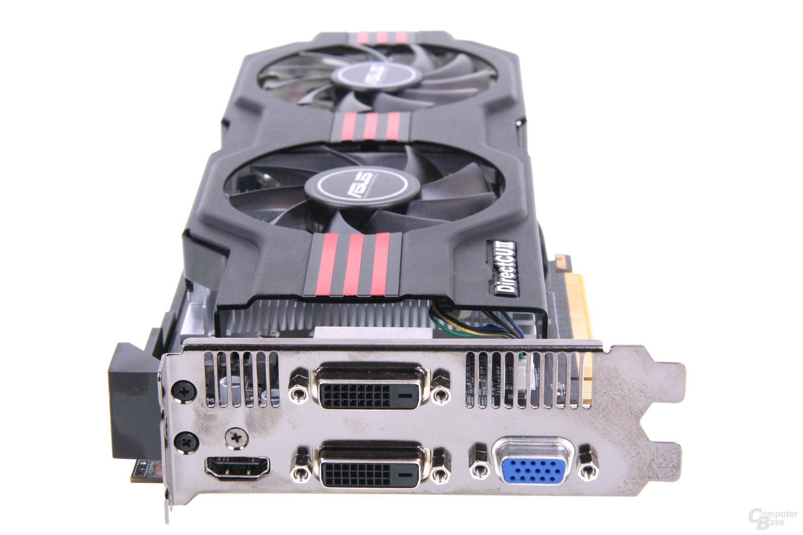 GeForce GTX 650 Ti TOP Slotblech
