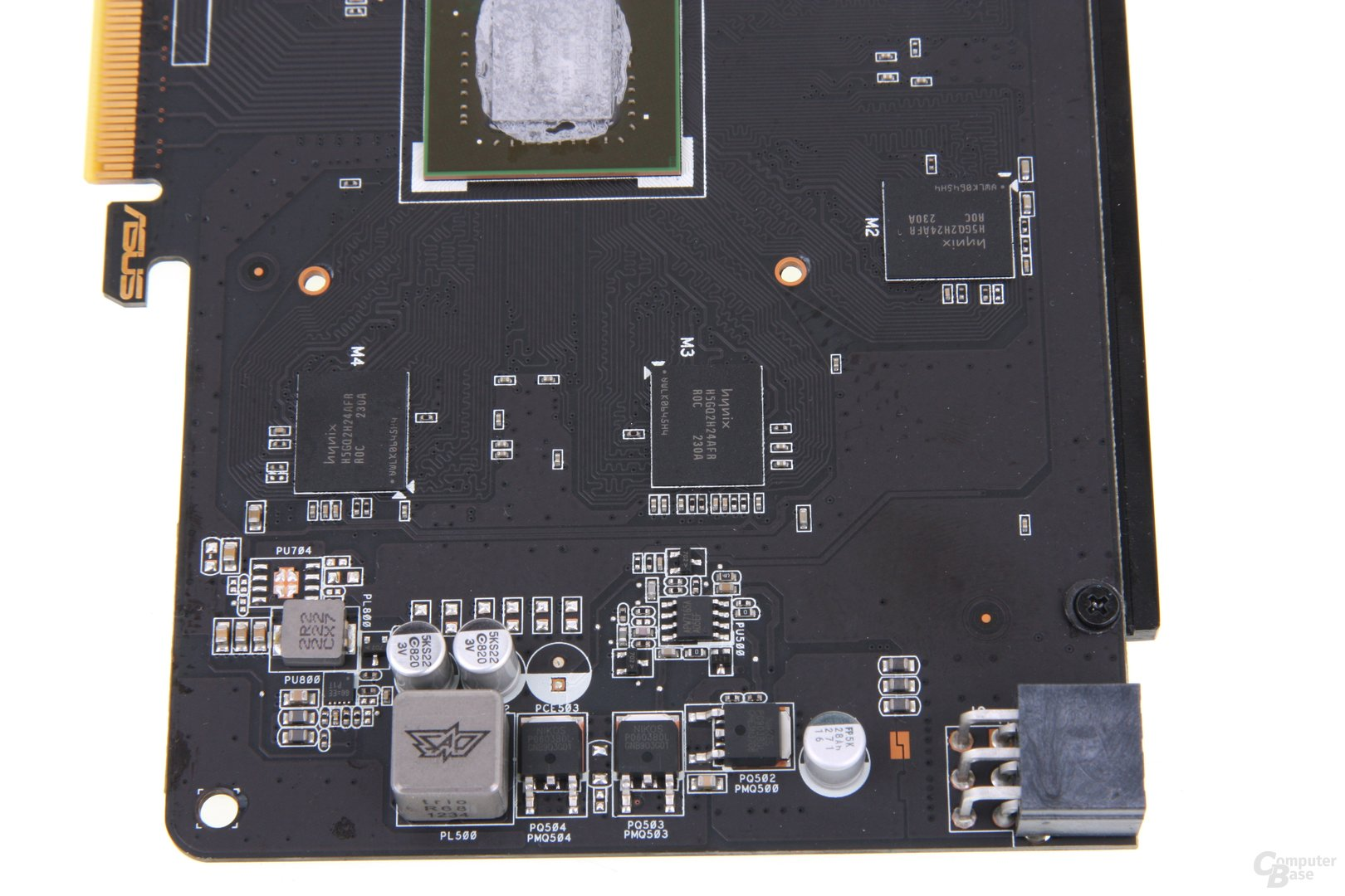 GeForce GTX 650 Ti TOP Bauteile