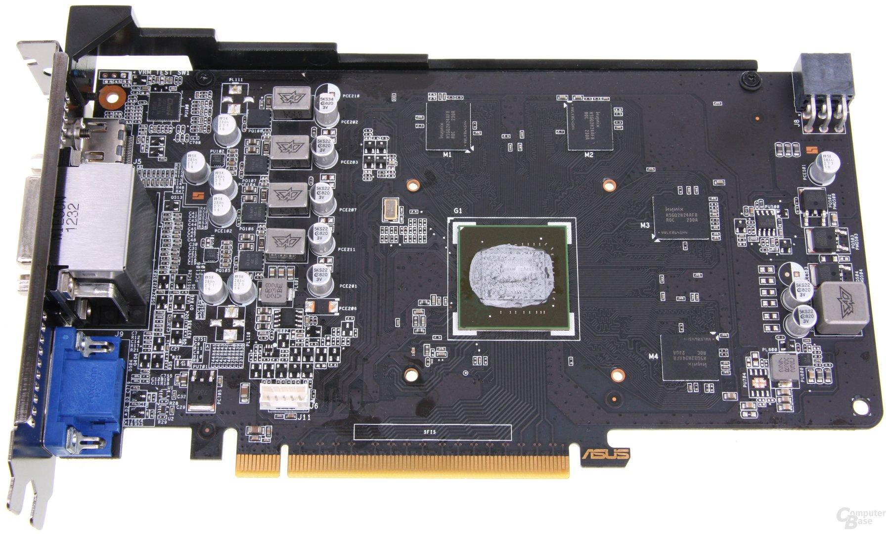 GeForce GTX 650 Ti TOP ohne Kühler