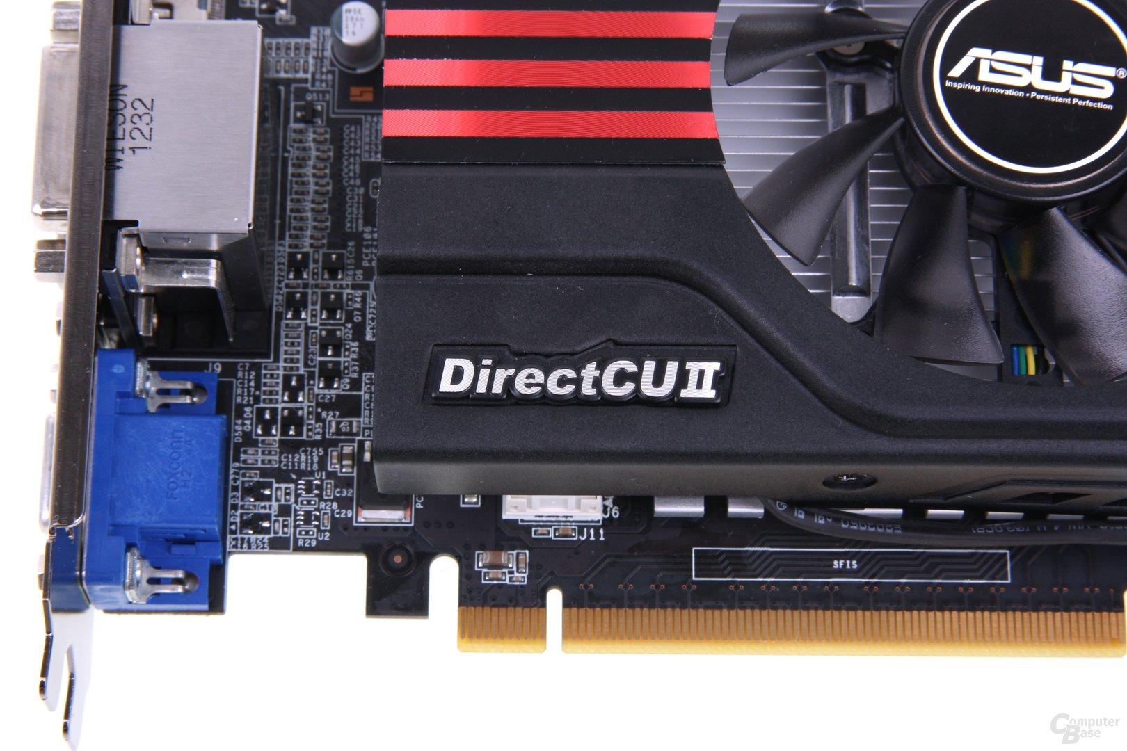 GeForce GTX 650 Ti TOP Schriftzug