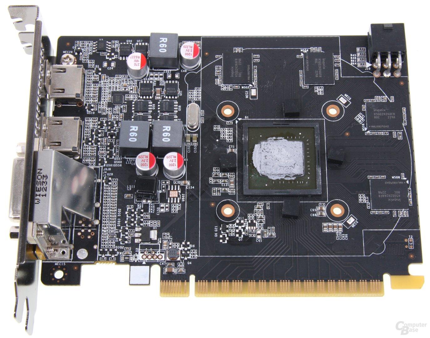 GeForce GTX 650 Ti AMP! ohne Kühler