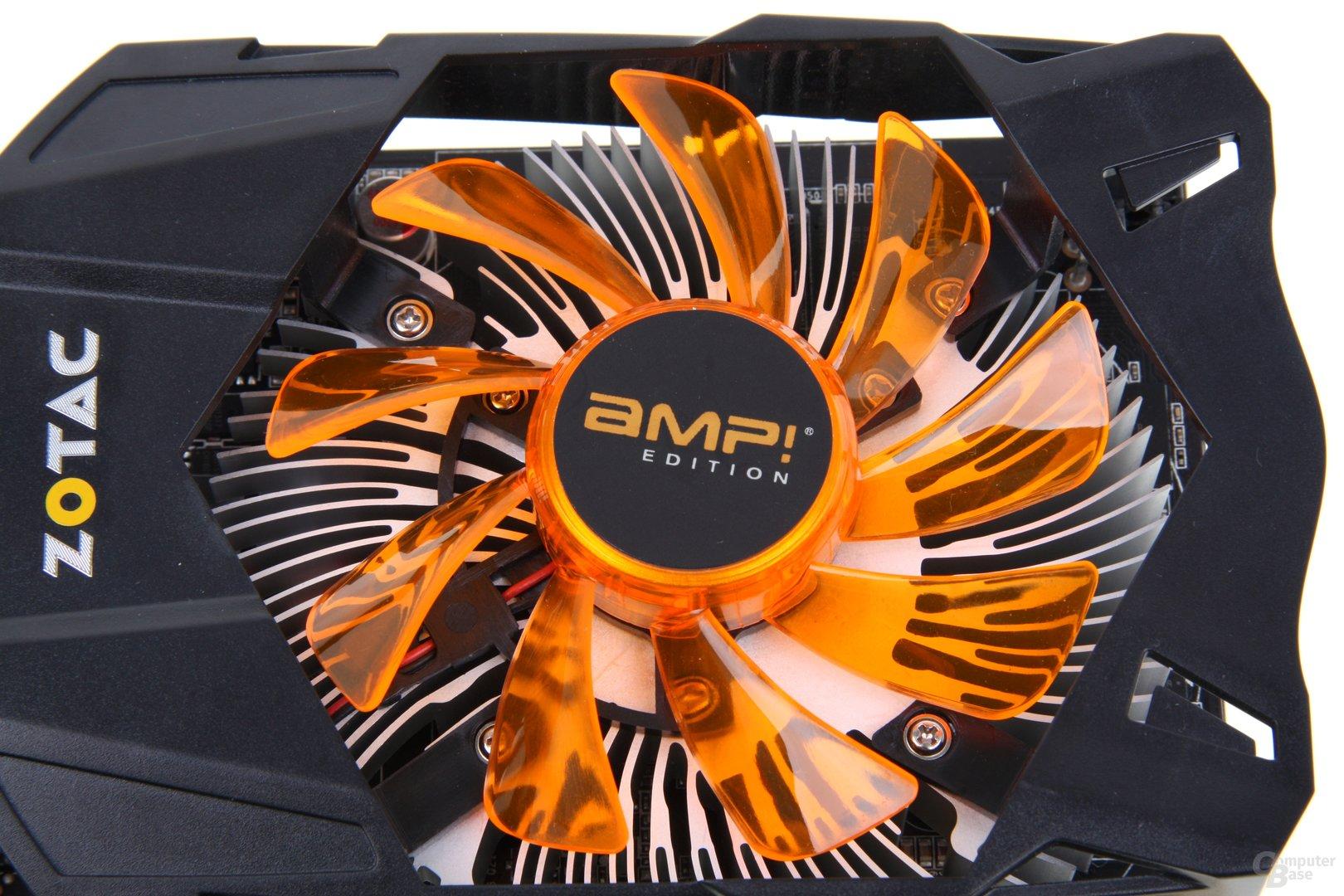 GeForce GTX 650 Ti AMP! Lüfter
