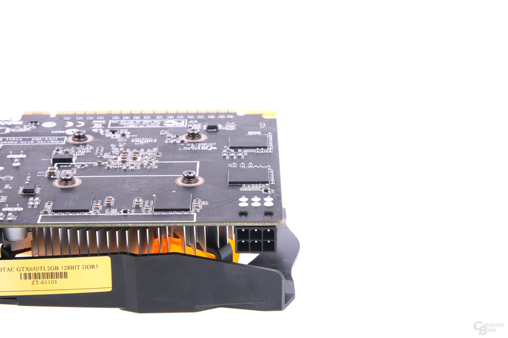 GeForce GTX 650 Ti AMP! Stromanschluss